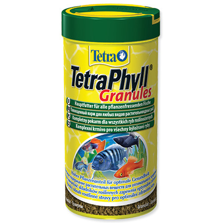 Tetra Phyll granulované krmivo pro býložravé ryby 250 ml