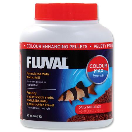 Hagen Fluval Color Enhancing Pellets krmivo v peletách pro intenzivní zbarvení ryb 200 ml
