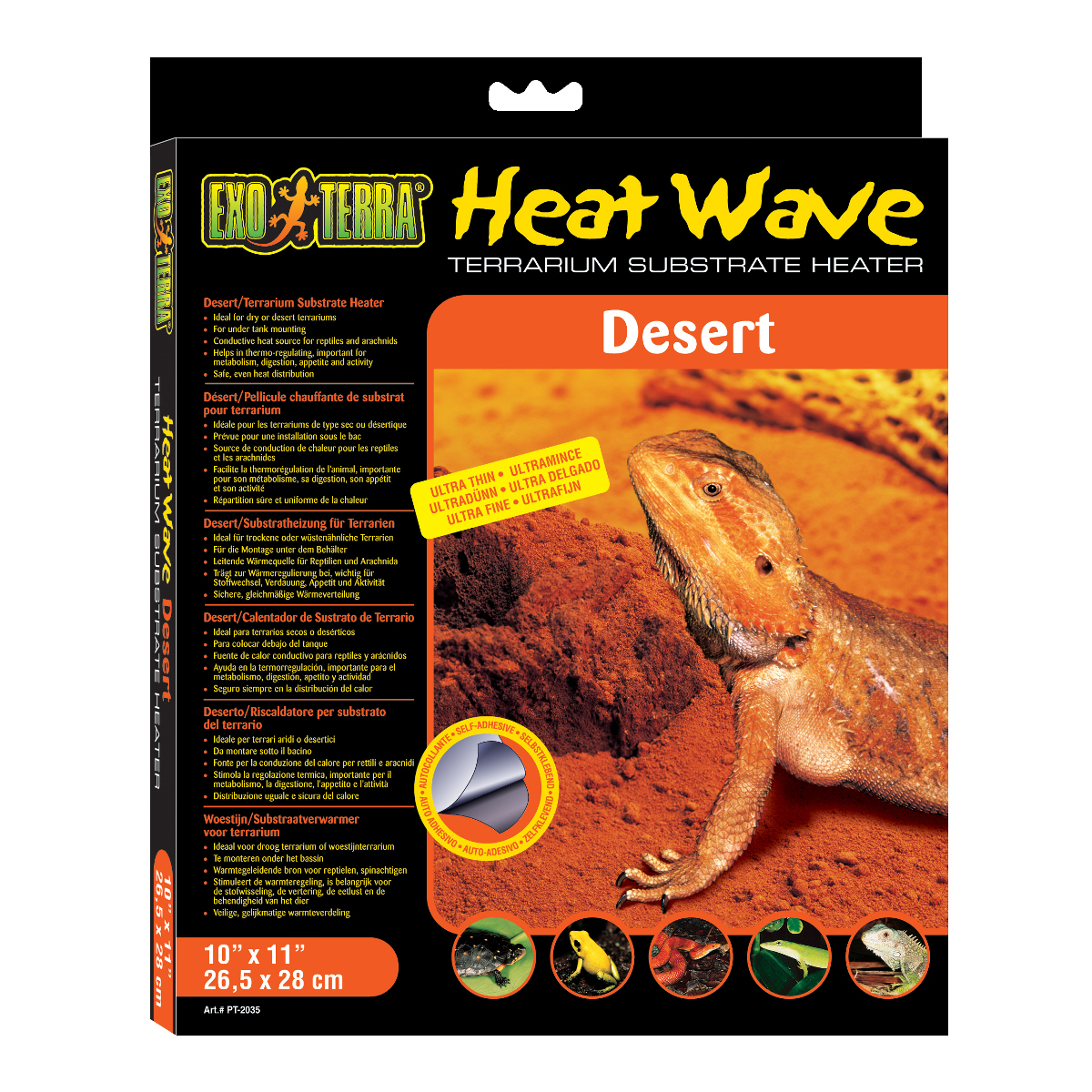 Deska topná EXO TERRA Heat Wave Desert střední 16 W