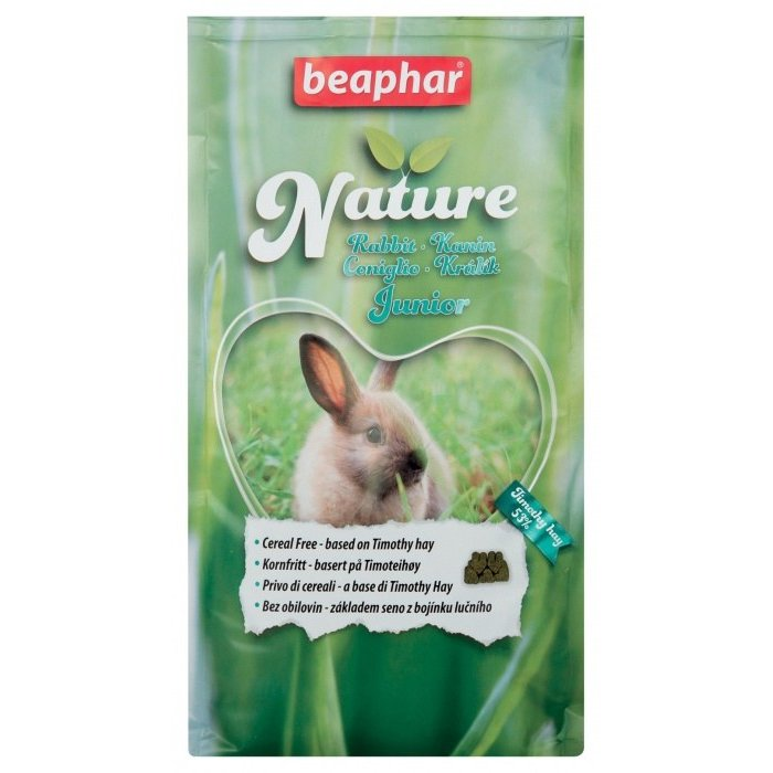 Krmivo BEAPHAR Nature Rabbit Junior 1,25 kg