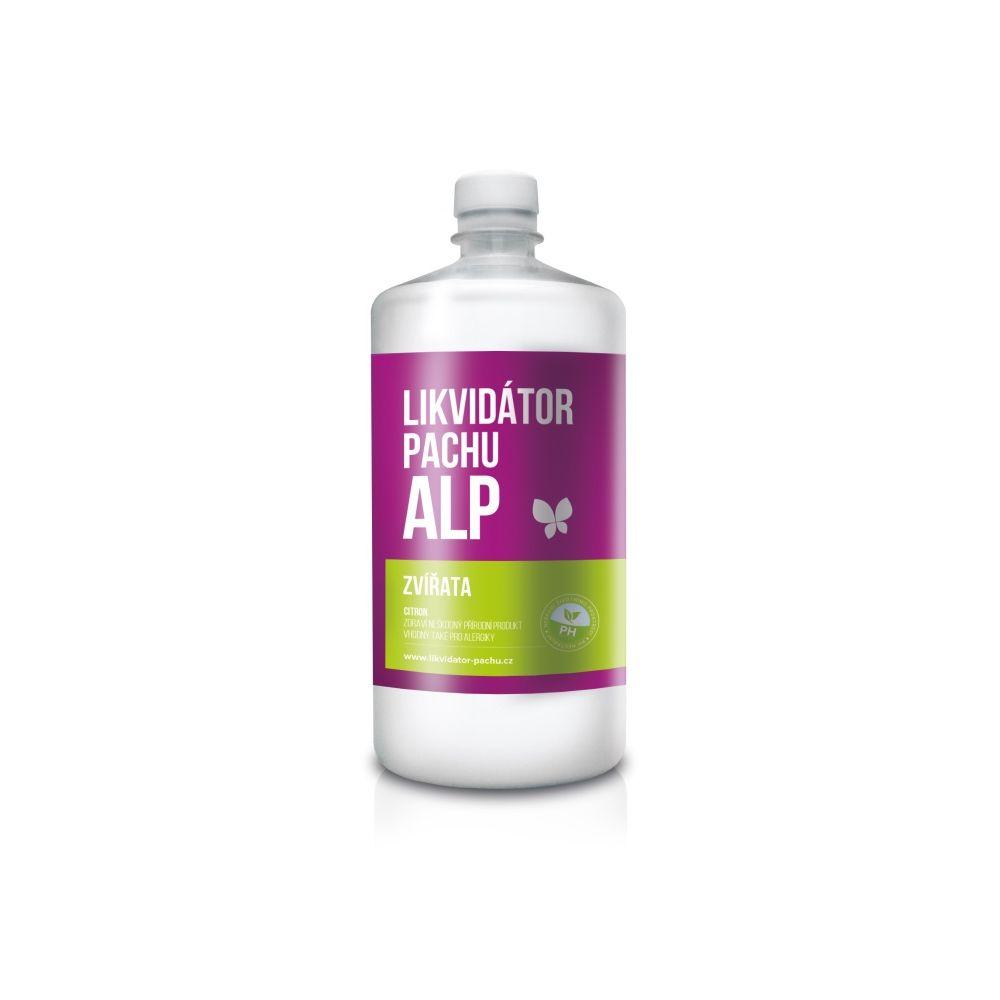 Alp Likvidátor pachu Zvířata - citron lahev 1 l
