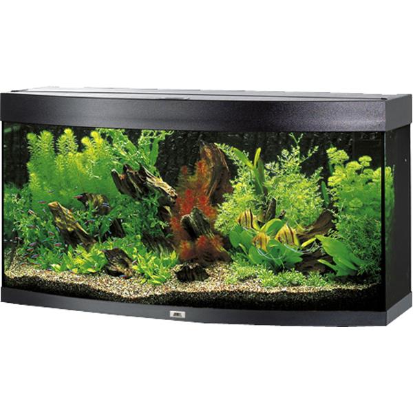 Juwel Vision 260 akvárium set černý 121x46x64 cm, objem 260 l