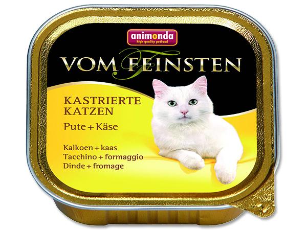 Animonda Vom Feinsten Castrate - krůta & sýr pro kastrované kočky 100 g