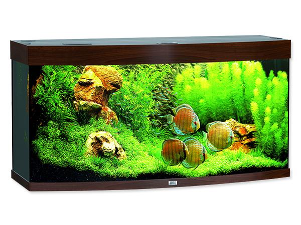 Juwel Vision 260 akvárium set tmavě hnědý 121x46x64 cm, objem 260 l