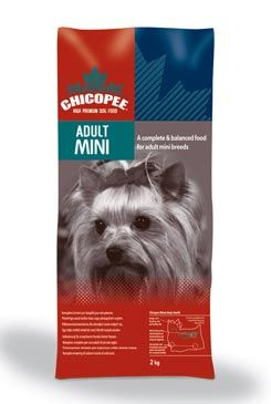Chicopee pes Dry Adult Mini 15kg