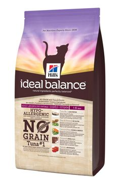 Hill's Feline Ideal B. Adult NO GRAIN Tuňák bram 300g