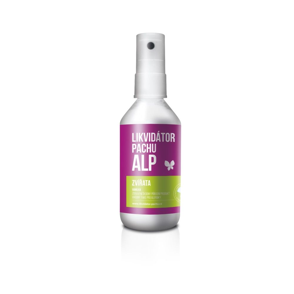 Alp Likvidátor pachu Zvířata - vanilka sprej 100 ml