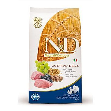N&D Low Grain Dog Adult Lamb & Blueberry 800 g