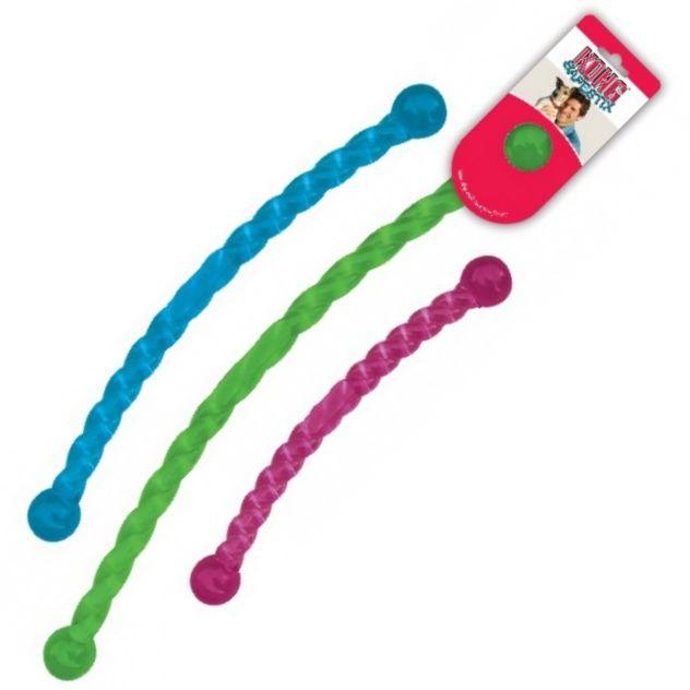 Kong Safestix Hůlka kroucená gumová plovoucí interaktivní hračka pro psy