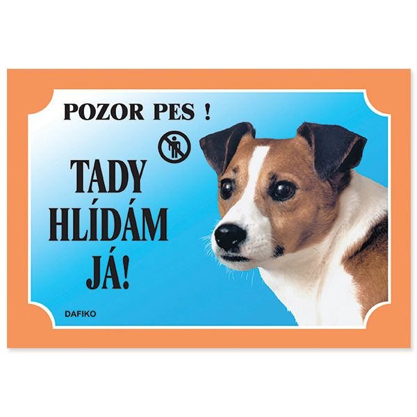 Tabulka DAFIKO jack russel terier