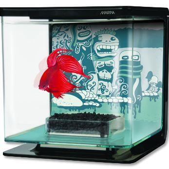 Hagen Marina Betta Kit Wild Things akvárium plastové 2 l