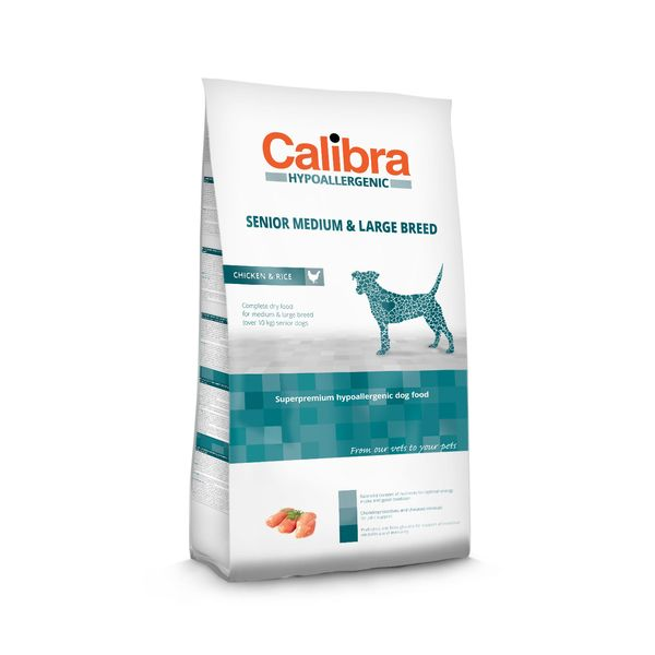 Calibra Dog HA Senior Medium & Large Chicken 3 kg NEW