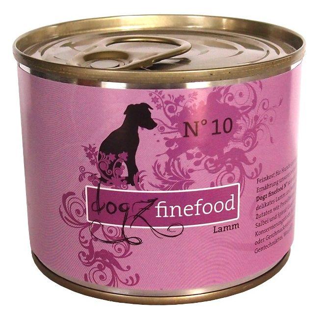 Dogz Finefood No.10 - jehněčí pro psy