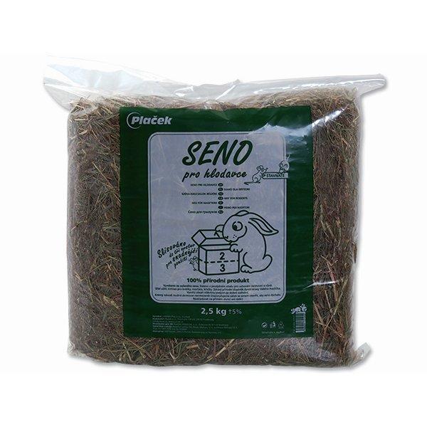 Seno ZOO BOX krmné lisované 2,5 kg