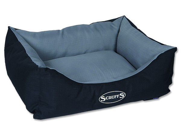 Scruffs Expedition Box Bed Pelech šedivý - S