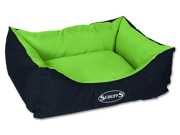 Scruffs Expedition Box Bed pelech pro psy limetkový - velikost S