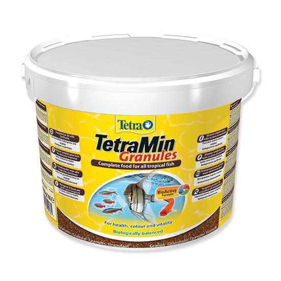 Tetra Min Granules jemně granulované krmivo pro ryby 10 l