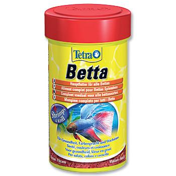 Tetra Betta granulované krmivo pro ryby bojovnice