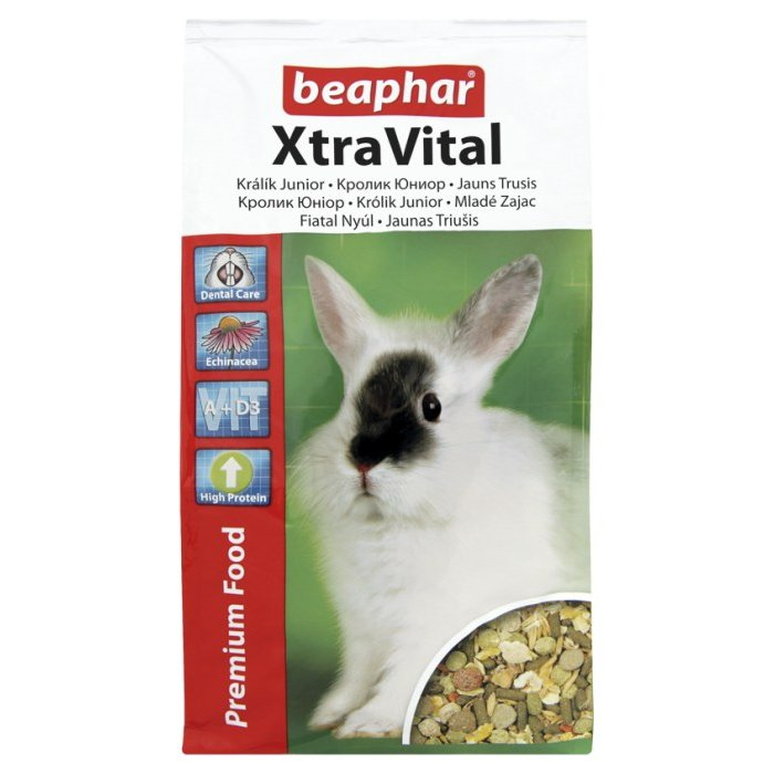 Krmivo BEAPHAR XtraVital junior králík 1 kg