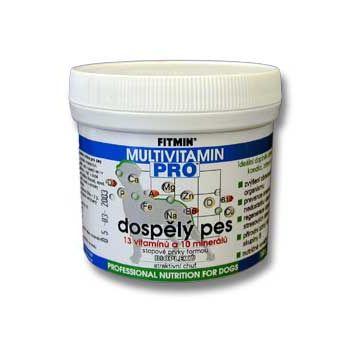 Fitmin Pro Multivitamin - pro dospělé psy v prášku 150 g