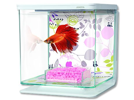 Hagen Marina Betta Kit Floral akvárium plastové 2 l