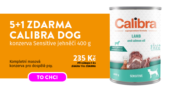 Calibra Dog konzerva 5+1