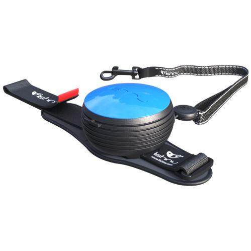 Vodítko pro psa hands-free Lishinu - modré - do 30 kg