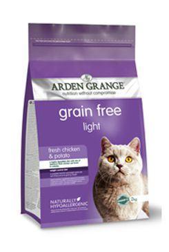 Arden Grange Cat Light Chicken & Potato - kuřecí & brambory pro kočky s nadváhou