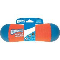Chuckit! Tumble plovoucí pešek oranžový - velikost M, 21x6 cm