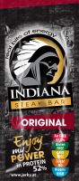 INDIANA Jerky Steak Bar, Original, 20g