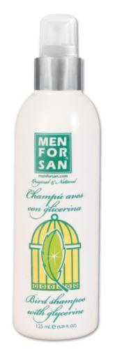 MenForSan Šampon s glycerinem pro ptáky 125 ml