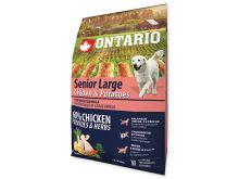 ONTARIO Senior Large Chicken & Potatoes & Herbs 12 kg