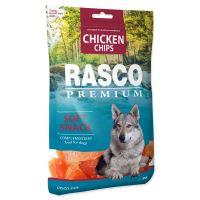 Pochoutka RASCO Premium plátky s kuřecím masem 80g