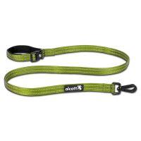 Alcott reflexní vodítko, weekender, pro psy, zelené