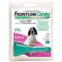 Frontline Combo Antiparazitní pipeta pro psy 20-40 kg 2,68 ml
