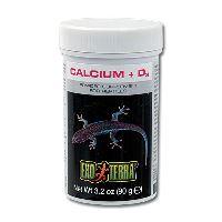 Doplňkové krmivo EXO TERRA kalcium + vitamín D3