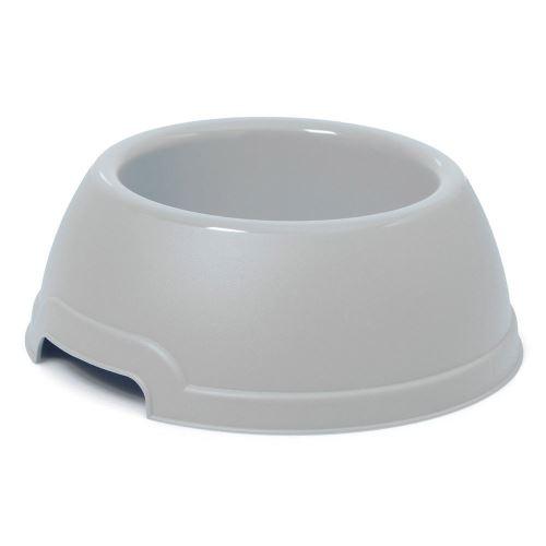 Plastová miska s protiskluzem Argi - šedá - 1300 ml