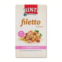 Rinti Filetto kapsička - kuře & telecí v omáčce 125 g
