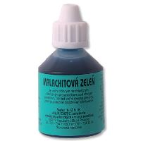 Aqua Exotic Malachitová zeleň dezinfekce proti parazitům 25 ml
