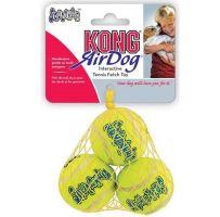 Kong Air Dog Tenis pískací míč s dalekým odskokem - velikost XS, 3 ks