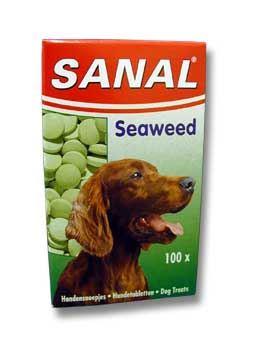 Sanal Tablety s mořskou řasou pro kvalitní srst, 100 tablet