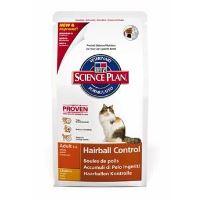 Hill's Feline Dry Hairball Contr. - k minimalizaci tvorby trichobezoárů
