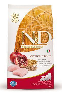 N&D Low Grain Dog Puppy Chicken & Pomegranate