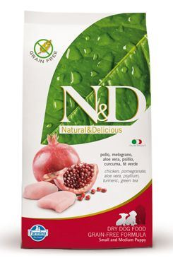 N&D Grain Free Dog Puppy S/M Chicken & Pomegranate