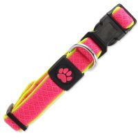 Obojek ACTIV DOG Fluffy Reflective růžový S 1ks