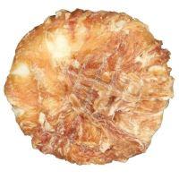 Trixie Dentafun Kroužek z buvolí kůže obalený kuřecím masem, 10 cm