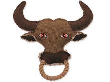 Dog Fantasy Hračka textile Kráva 28 cm