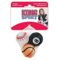 Kong Air Dog Tenis pískací míč s dalekým odskokem - velikost S, 3 ks