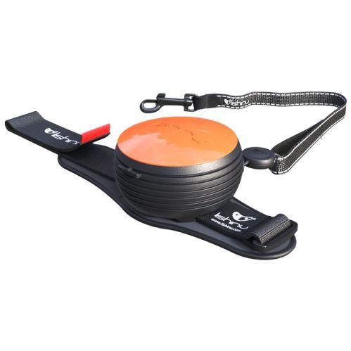 Vodítko pro psa hands-free Lishinu - oranžové - do 30 kg