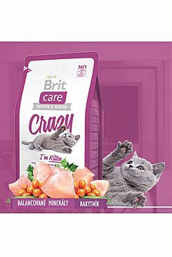Brit Care Cat Crazy I`m Kitten